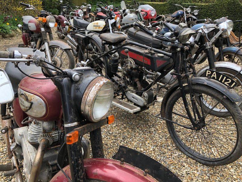 Barn Full of Bikes